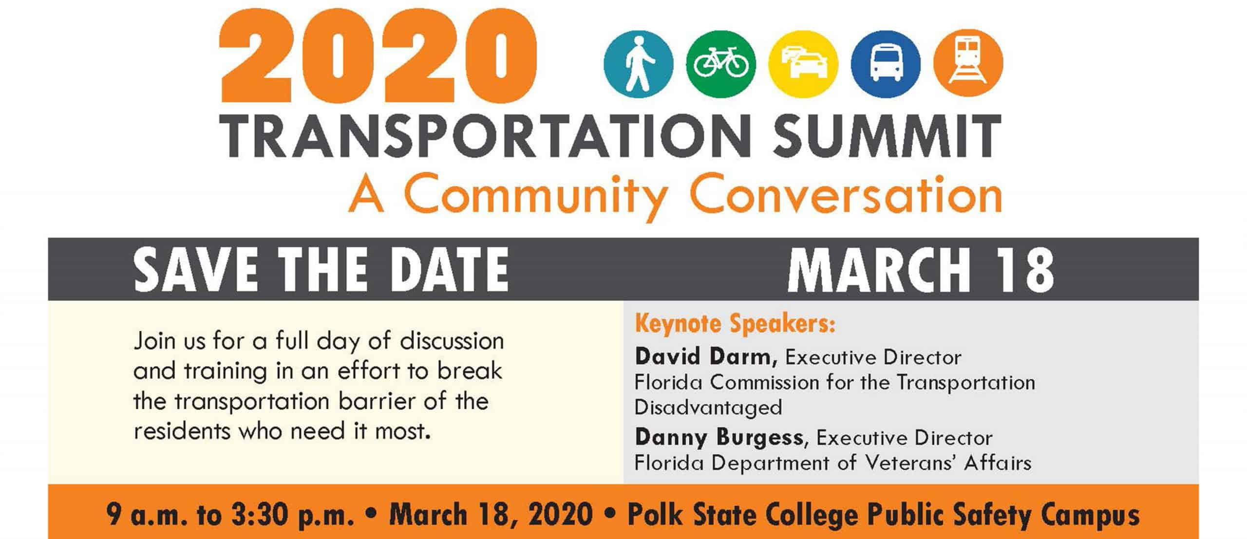 Transportation Summit Save The Date Slider