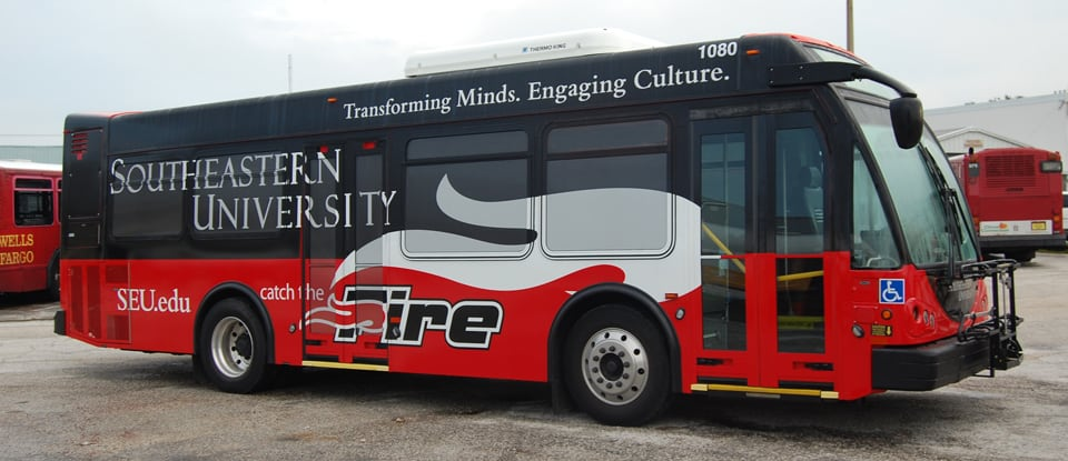 SEU Wrapped Bus